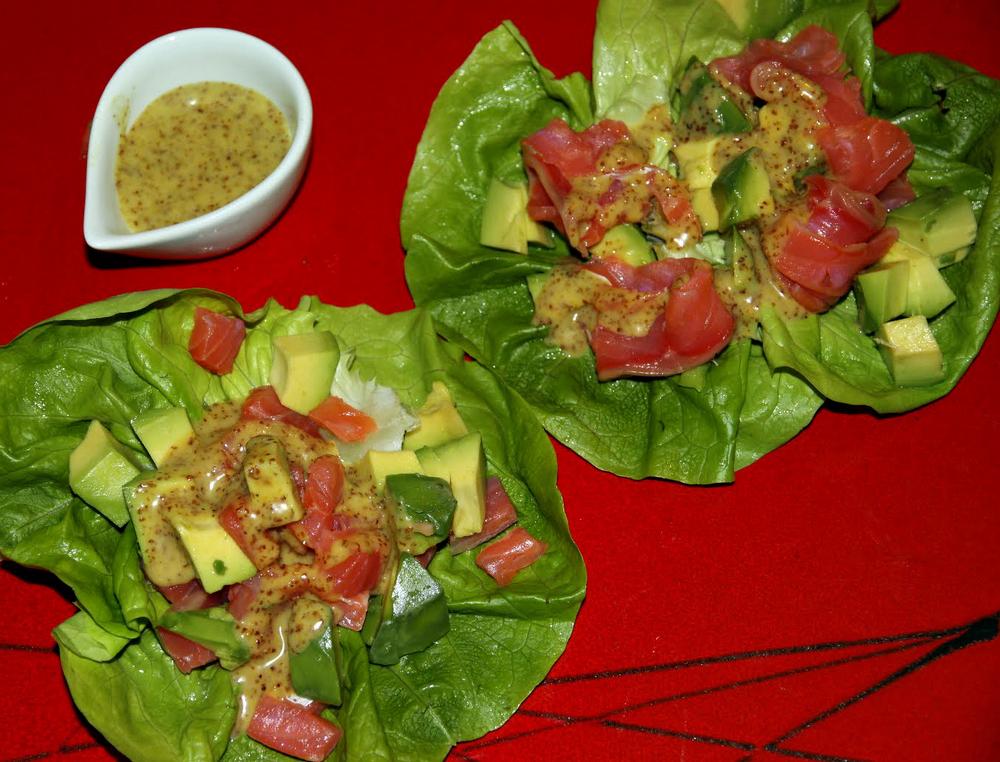 итальянский салат авокадо